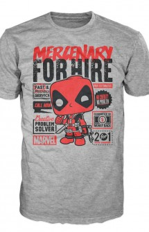 Camiseta Pop! Tees: Deadpool For Hire