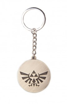"Llavero Metal - The Legend of Zelda ""Triforce Logo"""
