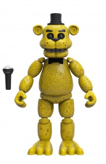 "Figura articulada - Five Nights at Freddy´s ""Golden Freddy"""