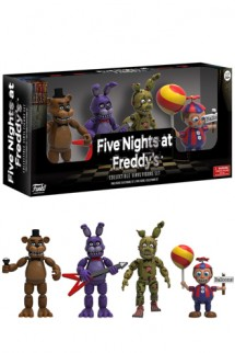 Five Nights at Freddy's: Pack de 4 Figuras - Pack 2