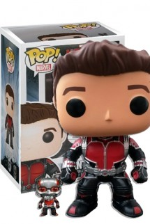 Pop! Marvel:  COLLECTION CORPS - ANT-MAN + mini Ant-man EX