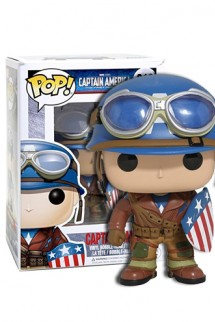 Pop! Marvel: WWII Capitán America ECCC 2017 - Exclusivo