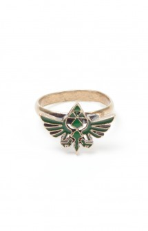 Zelda - Anillo con logo Triforce