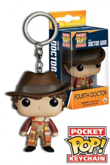 Pop! Keychain: Doctor Who - Fourth Doctor