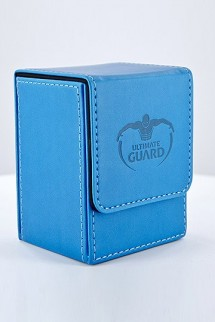 Ultimate Guard Flip Deck Case 80+ Standard Size Blue