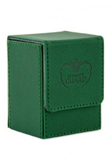 Ultimate Guard Flip Deck Case 80+ Standard Size XenoSkin Green