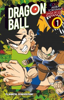 Dragon Ball Color Saiyan nº 01/03