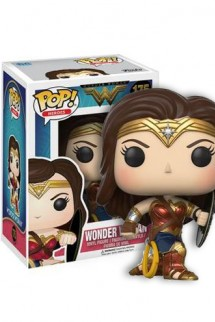 Pop! Movies: Wonder Woman - Wonder Woman arrodillada Exclusivo