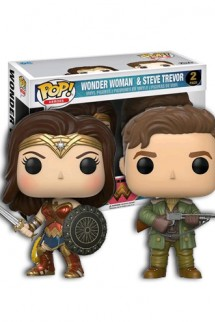 Pop! Wonder Woman: Wonder Woman & Steve Trevor Pack 2
