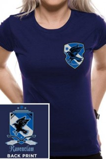 Harry Potter - Camiseta Chica House Ravenclaw