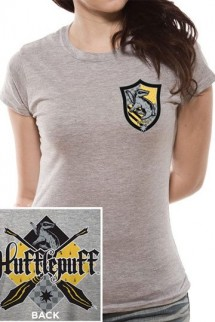 Harry Potter - Camiseta Chica House Hufflepuff