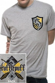 Harry Potter - Camiseta Chico House Hufflepuff