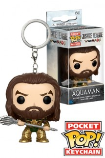 Pop! Keychain: Justice League - Aquaman
