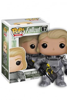 Pop! Games: Fallout - Female Power Armor Unmasked