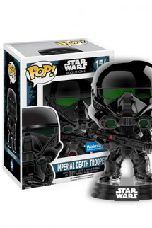 Pop! Star Wars: Rogue One - Imperial Death Trooper (Chome Metallic)