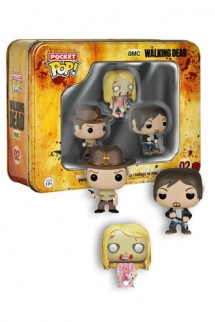 Pocket Pop! The Walking Dead: Rick, Teddy y Daryl