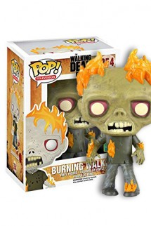 Pop! TV: The Walking Dead - Burning Walker Exclusivo