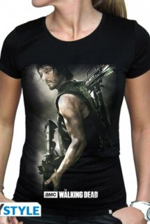 The Walking Dead - Camiseta Mujer Daryl