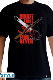 "Ash VS Evil Dead - camiseta hombre ""Shoot First"""