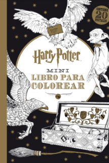 Harry Potter mini libro para colorear