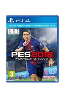 Pro Evolution Soccer 2018 Edicion Premium Ps4