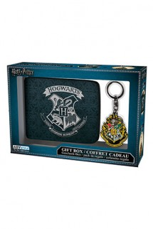 Harry Potter - Cartera + Llavero Hogwarts