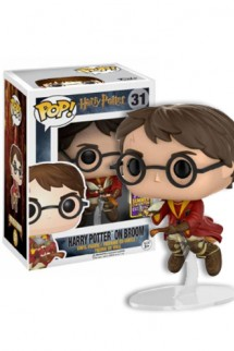 Pop! Movies: Harry Potter -  Harry y Broom SDCC 2017 Exclusivo