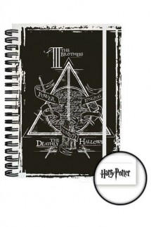 Harry Potter - Libreta A5 Deathly Hallowes