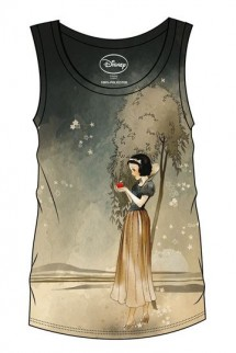 Blancanieves y los Siete Enanitos - Camiseta Chica Tank Top Sublimation Snow White & Apple