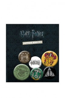 Harry Potter - Pack 6 Chapas Mix
