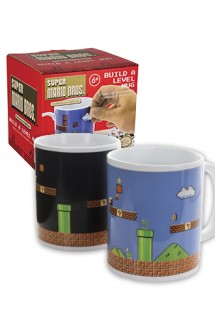 Super Mario Bros - Taza Build-A-Level