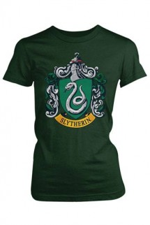 Harry Potter - Camiseta Chica Slytherin