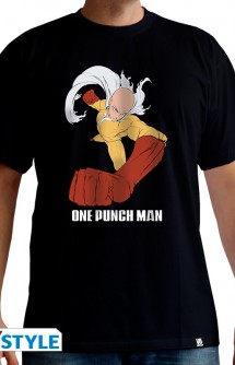 "ONE PUNCH MAN - Camiseta ""Saitama Punch"" hombre"