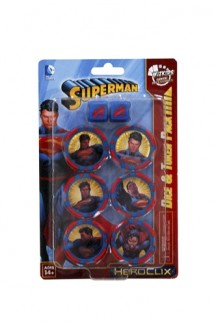 Heroclix Superman Dice & Token