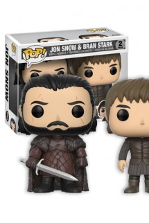 Pop! TV: Juego de Tronos - Pack Jon Snow & Bran Exclusiva