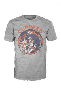 Pop! Tees: Cuphead - Mugman Devil