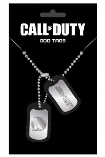 Call of Duty - Dog Tags with ball chain Logo