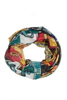 Harry Potter - Crests Infinity Loop Scarf