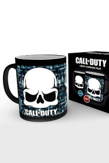 Call of Duty - Taza sensitiva al calor Skull