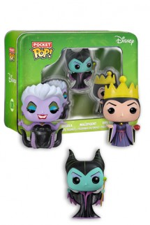 Pocket Pop! Disney - Maléfica, Reina Mala y Úrsula
