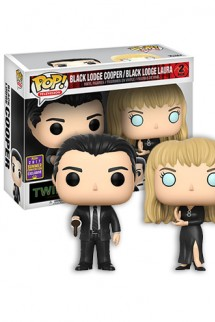 Pop! TV: Twin Peaks - Lodge Cooper & Laura Exclusivo