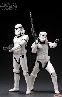 Star Wars - Stormtrooper TWO PACK ARTFX+ STATUE