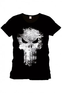Punisher - Camiseta Distress Skull