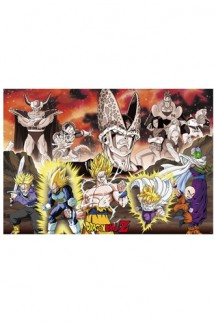 Dragon Ball - Poster Group Cell Arc