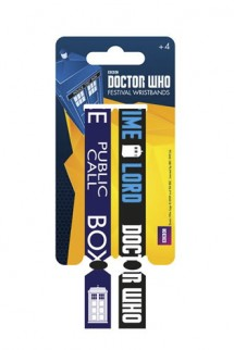 Doctor Who - Pack de 2 Pulseras