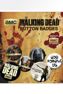 The Walking Dead - Pin Badges 6-Pack