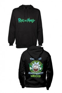 Rick and Morty - Hooded Sweater Riggity Riggity Wrecked