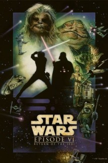 Star Wars - Metal Poster Return Of The Jedi