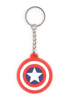 Captain America - Llavero caucho Shield Logo