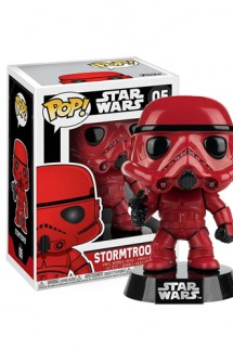 Pop! Star Wars: Red Stormtrooper Exclusivo